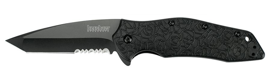 Kershaw 1835TBLKST Kuro Black Assisted Opening