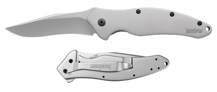 Kershaw 1840 Shallot - Plain Edge Assisted Opening (Online Only)