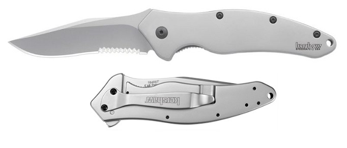 Kershaw 1840ST Shallot Serrated Assisted Open (Online Only)