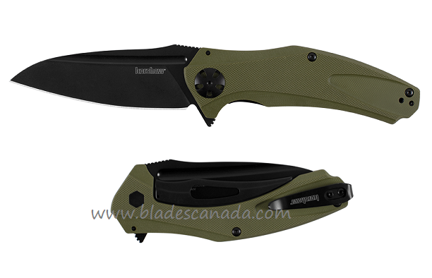 Kershaw 7008OLBLK Natrix XL Olive