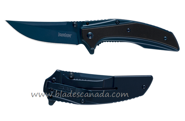 Kershaw 8320 Outright Blue Assisted Opening Folder