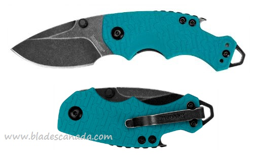 Kershaw 8700TEALBW Blackwash - Teal Handle