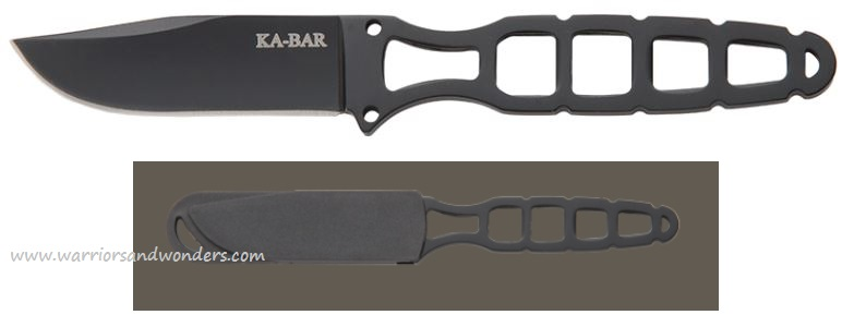 Ka-Bar 1118BP Skeleton Knife w/Sheath