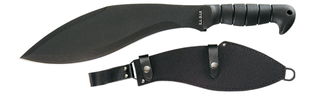 Ka-Bar 1249 Kukri with Leather/Cordura Sheath