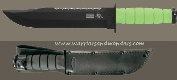 Ka-Bar 2212 Zombro Big Brother Leather Sheath (Online Only)