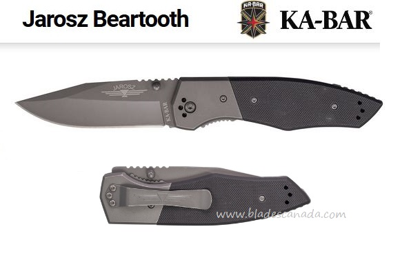 Ka-Bar Jarosz Beartooth, G10, Ka3086