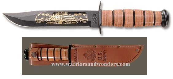 Ka-Bar 9108 US Army Pearl Harbor Commemorative (Online Only)