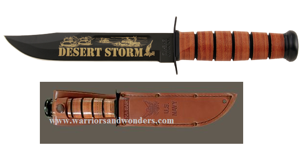 Ka-Bar 9153 US Navy Desert Storm Commemorative (Online Only)