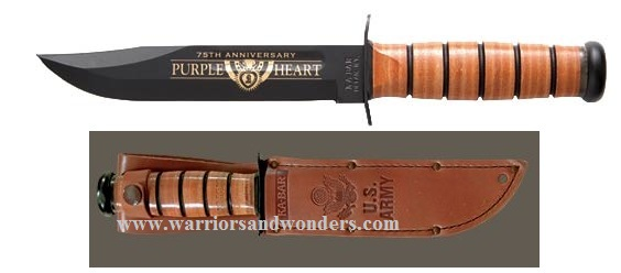 Ka-Bar 9155 US Army Purple Heart Commemorative (Online Only)