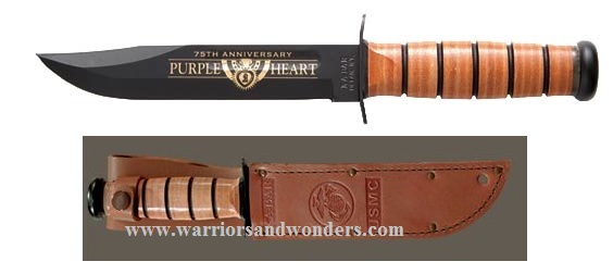 Ka-Bar 9156 USMC Purple Heart Commemorative (Online Only)