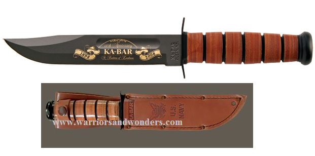 Ka-Bar 9160 NAVY 110th Anniversary Commemorative (Online)