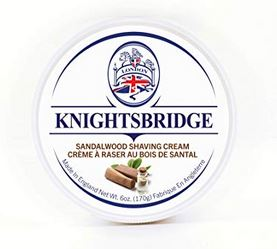 Knightbridge Premium Shaving Cream - Sandalwood