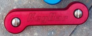 KeyBar Standard Aluminum 227 - Red Anodized