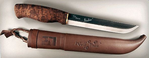 Kellam WP7 Slasher w/ Leather Sheath