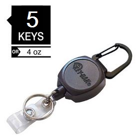 "KEY-BAK Sidekick 24"" Kevlar Cord ID Badge & Key Reel"