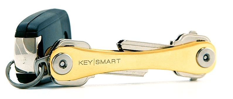 Keysmart 2.0 Extended Key Holder - Gold Edition