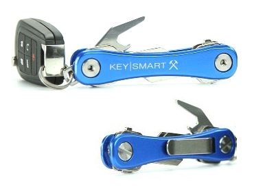 Keysmart Rugged Key Organizer - Blue