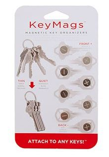 KeySmart Keymags Magnetic Key Organizers - 4 pack