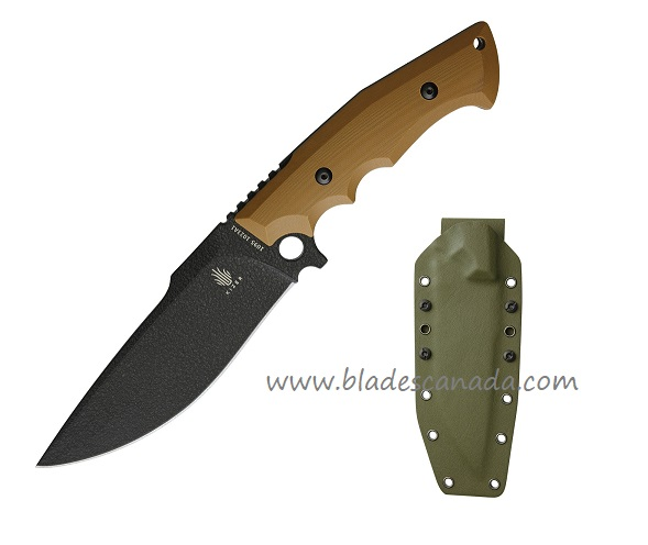 Kizer 1023A1 Salient E613 Fixed Blade - Coyote Brown