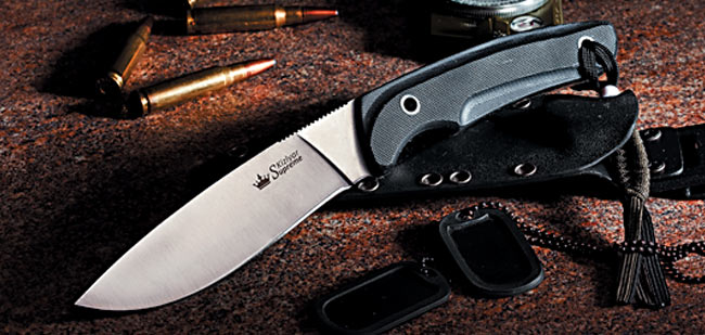 Kizlyar KK0029 Savage Satin AUS8 w/ Kydex Sheath (Online Only)