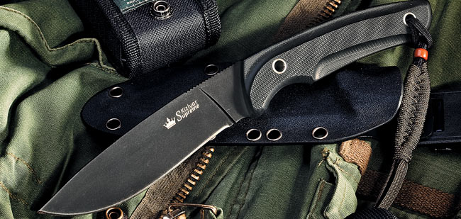 Kizlyar KK0032 Savage Black D2 w/ Kydex Sheath (Online Only)