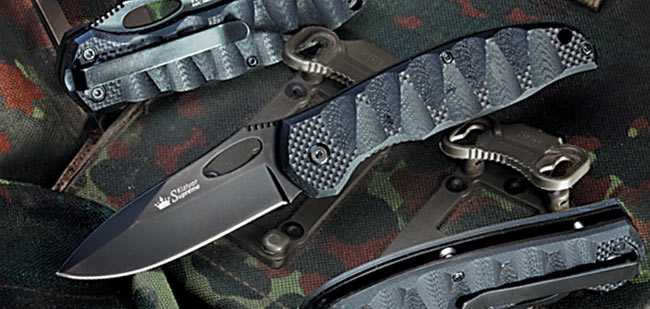 Kizlyar KK0117 Hero Folder - Black Blade 440C (Online Only)