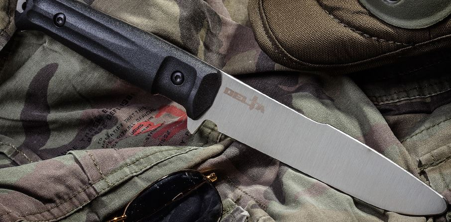 Kizlyar KK0162 Alpha/Delta Tactical Steel Training Knife