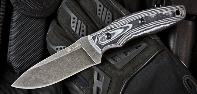 Kizlyar KK0231 Urban Stone Washed D2 w/ Kydex Sheath (Online)