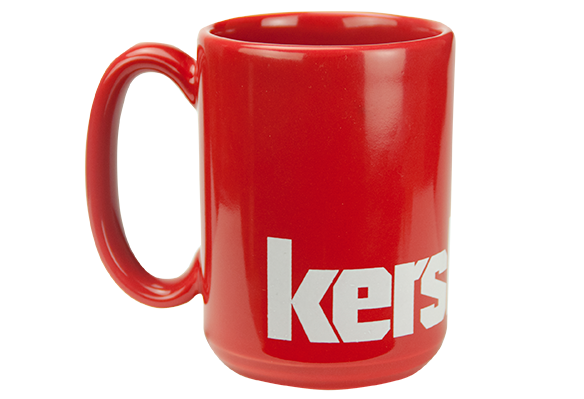 Kershaw Red Coffee Mug