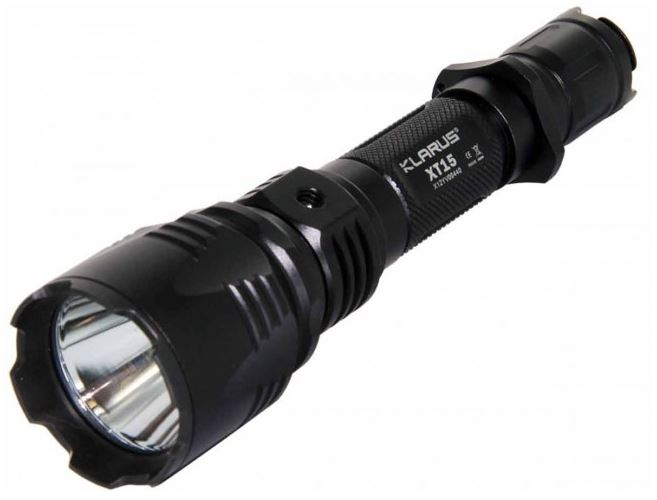 Klarus XT15 Falcon USB Rechargeable Flashlight -1020 Lumens