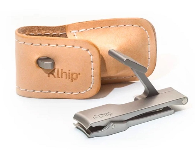 KLHIP Ultimate Clipper w/ Leather Pouch
