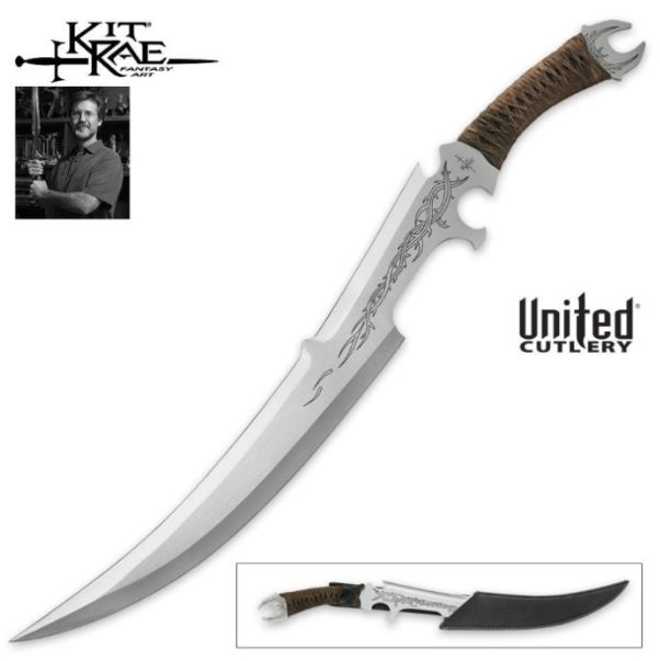 UC KR66 Kit Rae Mithrokil Short Sword w/Sheath