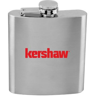 Kershaw Stainless Steel Flask - 6 oz