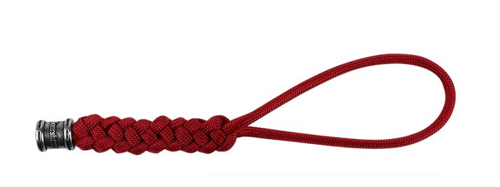 Kershaw Knotted Paracord Lanyard w/ Bead - Red