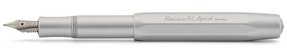 Kaweco AL Sport Fountain Pen Silver - Medium