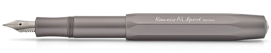 Kaweco AL Sport Fountain Pen Anthracite - Fine