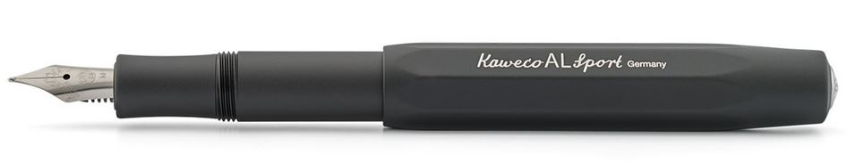 Kaweco AL Sport Fountain Pen Black - Fine