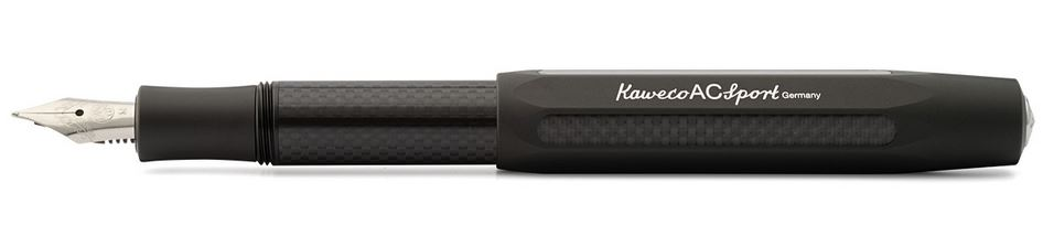 Kaweco AC Sport Fountain Pen Black - Fine