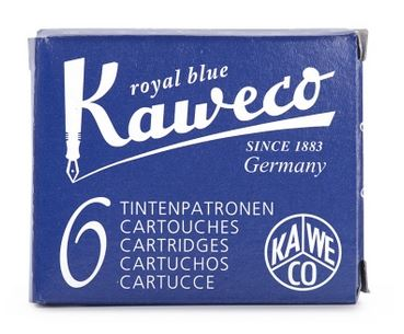 Kaweco Fountain Ink Cartridge 6-Pack - Royal Blue