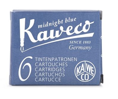 Kaweco Fountain Ink Cartridge 6-Pack - Midnight Blue