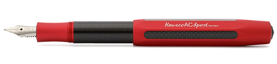 Kaweco AC Sport Fountain Pen Red - Fine