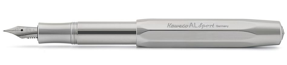 Kaweco AL Sport Fountain Pen Raw - Medium
