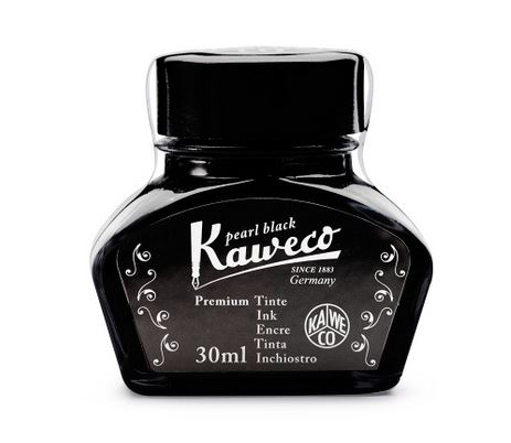 Kaweco Ink Bottle 30ml - Pearl Black
