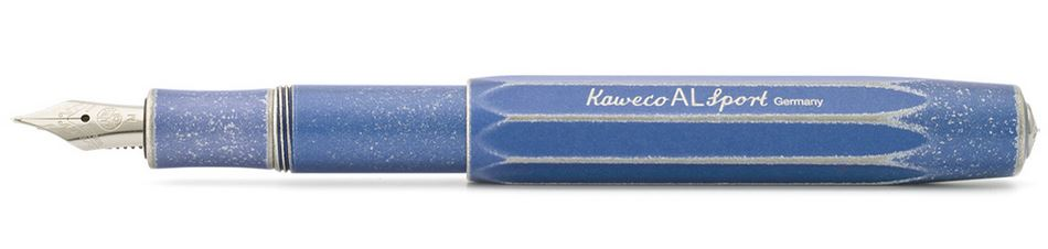 Kaweco AL Sport Fountain Pen Stonewash Blue - Medium