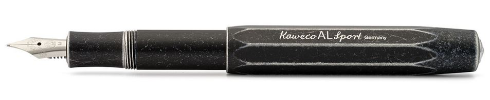 Kaweco AL Sport Fountain Pen Stonewash Black - Medium