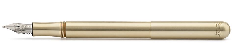 Kaweco Liliput Fountain Pen Eco Brass - Medium
