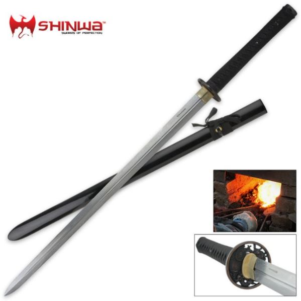 Shinwa Dragon Lord Damascus Samurai Katana