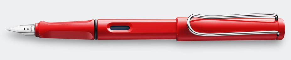 Lamy Safari Fountain Pen - Red