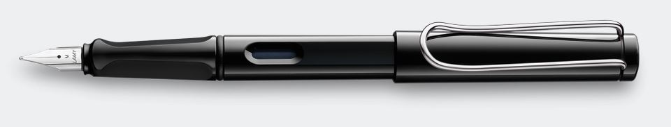 Lamy Safari Fountain Pen - Black