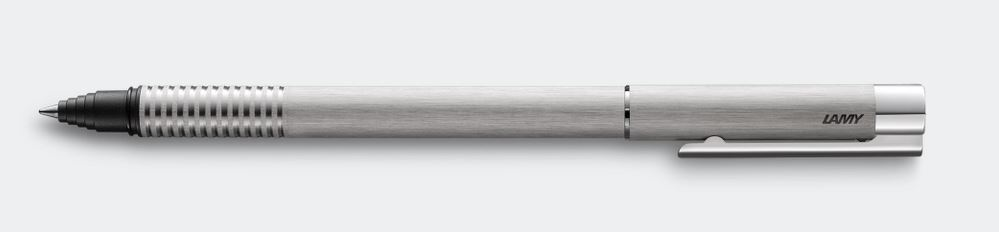 Lamy LOGO Rollerball Pen - Brushed